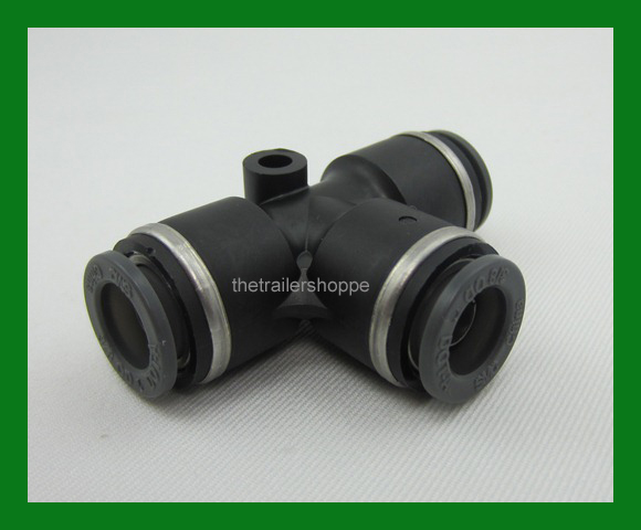Velvac push lock air brake composite fitting dot quot tube