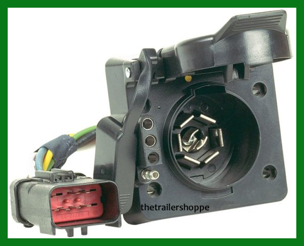 Hopkins 42145 Multi Tow 7 Way Rv Amp 4 Flat Trailer