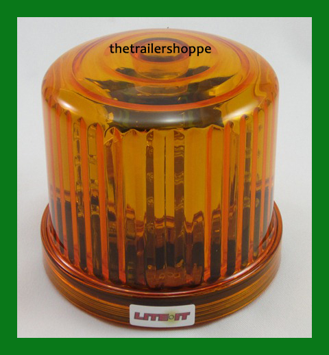 battery operated amber led beacon flashing light warning. Black Bedroom Furniture Sets. Home Design Ideas