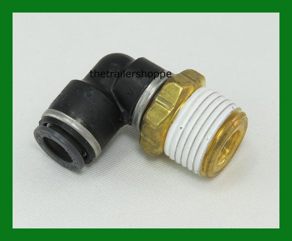 Velvac push lock air brake fitting dot quot tube npt