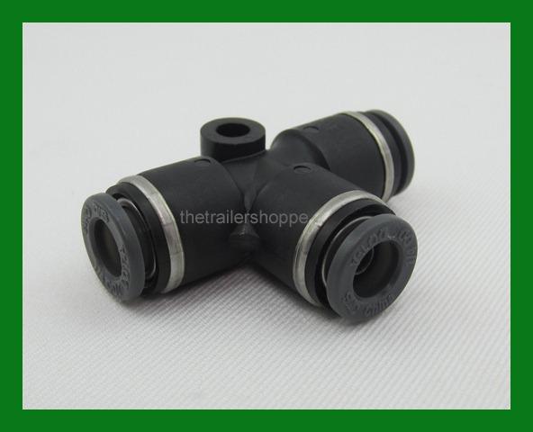 Details about VelVac Push Lock Air Brake Composite Fitting DOT 1/4