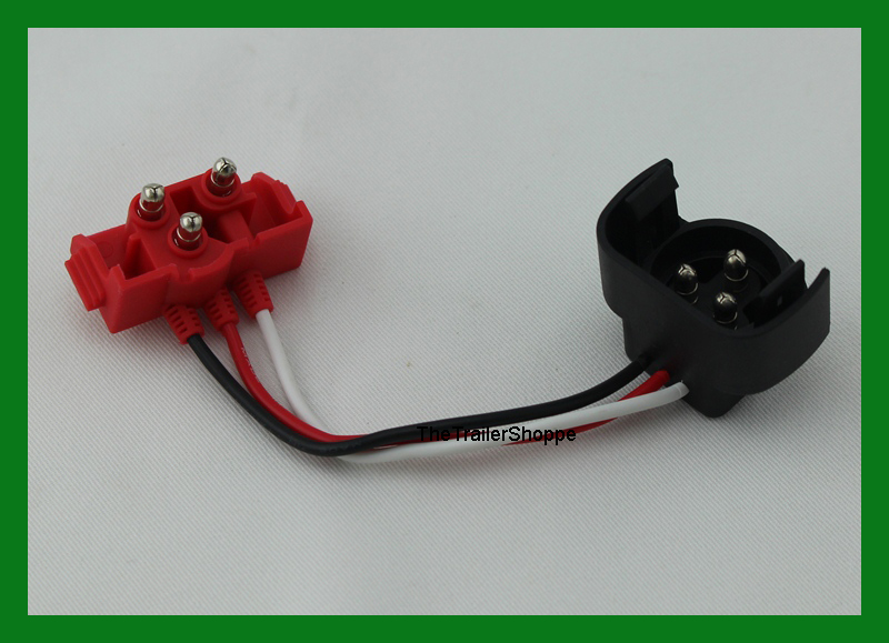 maxxima 3 pin male grote adapter harness light plug pigtail 3 pin male to male grote adapter listing is for 1 one adapter
