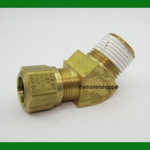 45° Elbows Nylon Air Brake Tube Fitting
