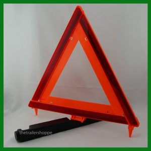 Emergency Warning Reflective Orange Triangle Kit