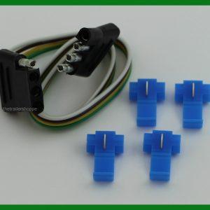 "4 Flat Loop 18"" Car & Trailer End Adapter"