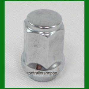 "Wheel Lug Nut 1/2"" Chrome"