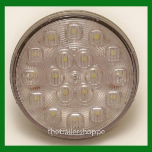 "Back Up Light 12/24 VDC 4"" Round 18 LED"