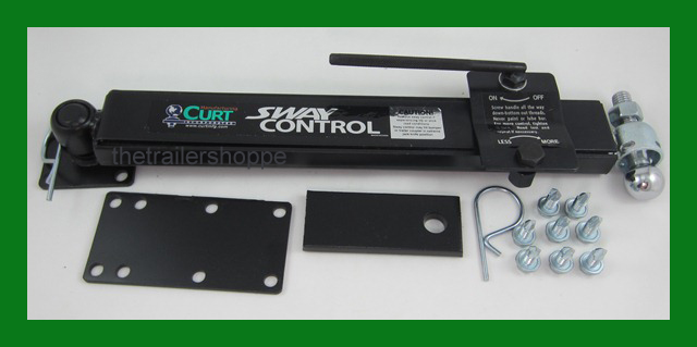Curt Adjustable Sway Bar Control Kit The Trailer Shoppe