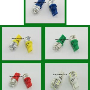Tower Replacement 10 LED Light Bulbs #194 & 168