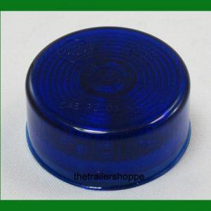 "Blue 9 LEDs Auxiliary Light 2"" Round"