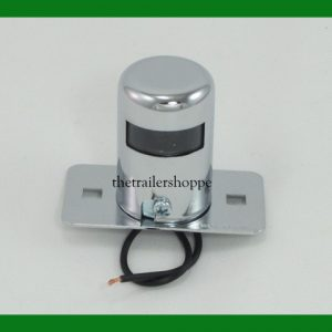 Round Surface Mount License Plate Light