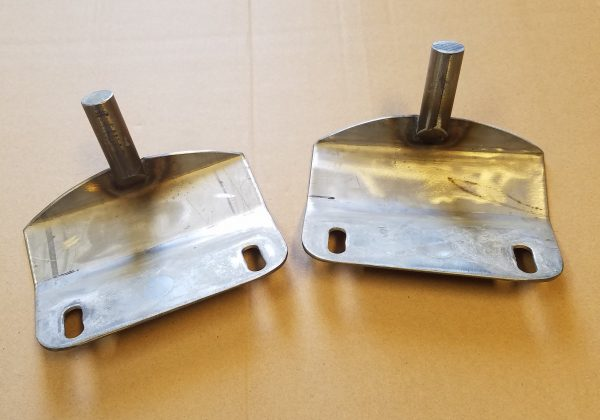 Chevy 08-14 Stainless Steel Hood Brackets