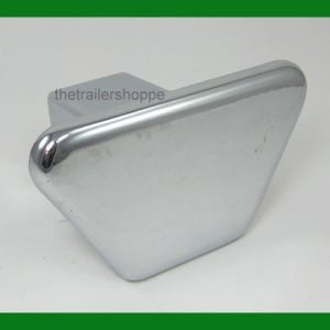 "Chrome Steel Hitch Cover for 2"" Square Receiver Tube"