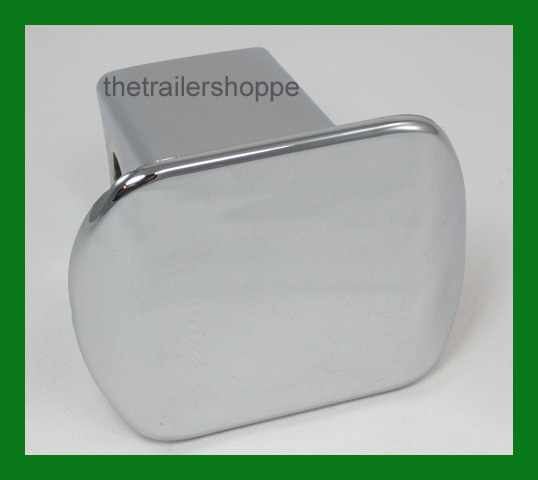 "Chrome Plastic Hitch Cover for 2"" Square Receiver Tube"