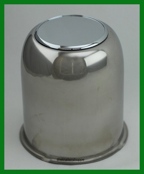 3.19 Stainless Steel Chrome Center Cap Cover Rounded
