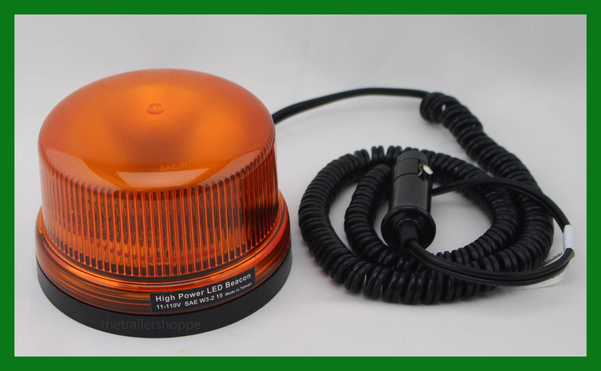 Strobe Light 4 5 8 Round Dome 3 Led The Trailer Shoppe Power