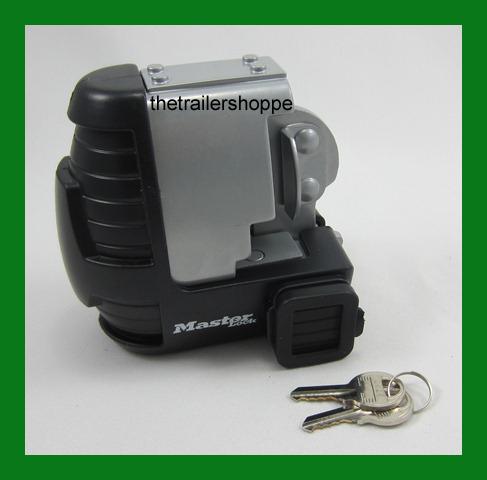 Master Lock Universal Trailer Coupler Towing Security