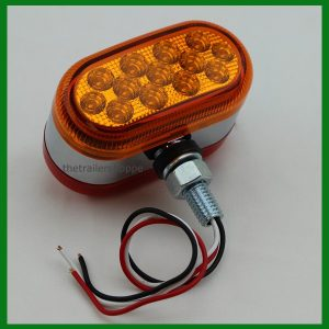 """Dual Function Reflector Double Face 26 LED 4"""" Oval Light"""