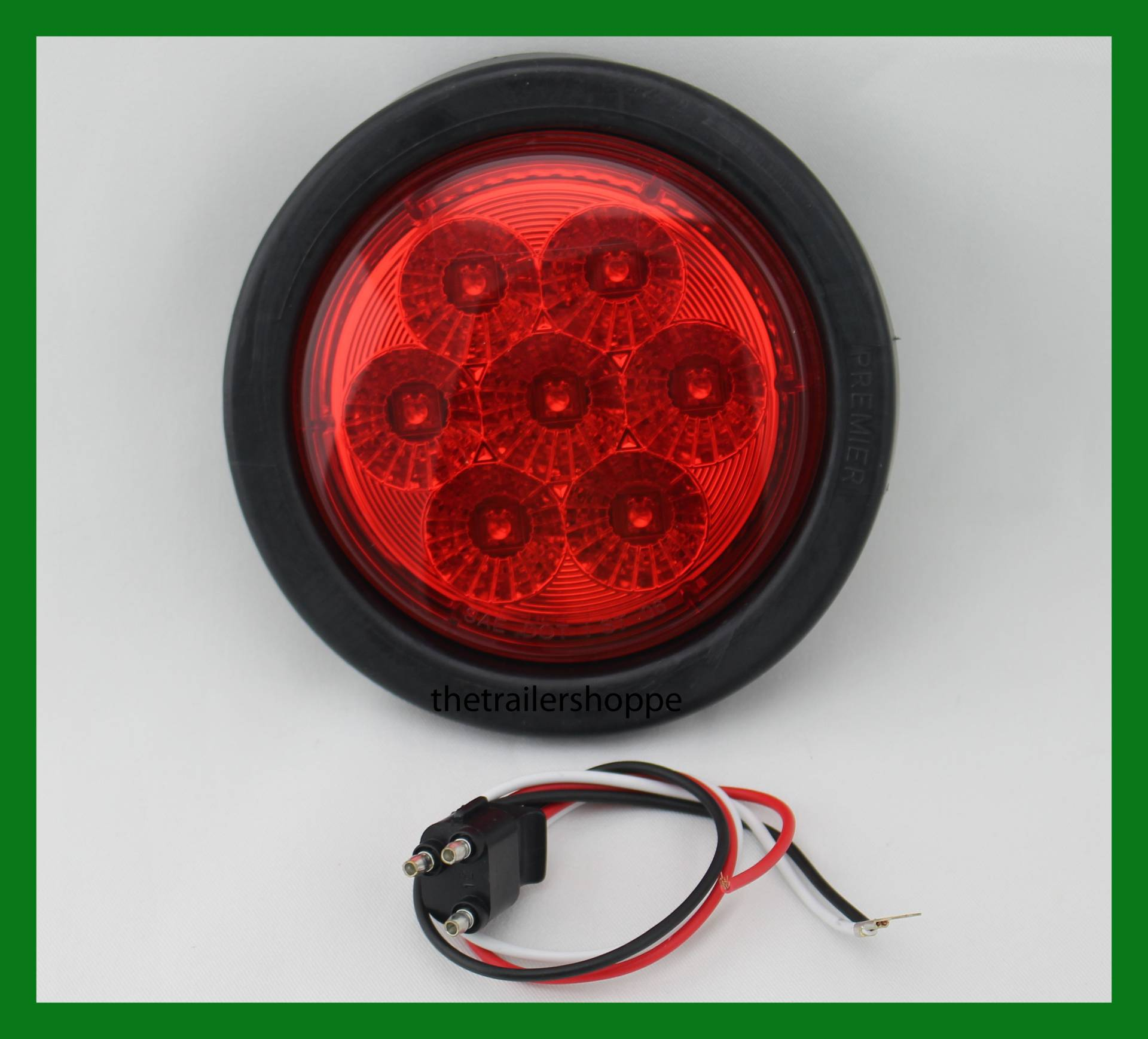 mount surface black led with bargman lights tail trailer red light series double taillight