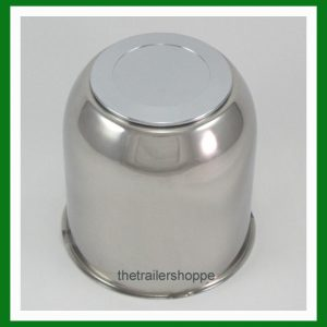 4.25 Stainless Steel Chrome Center Cap Cover FOR Trailer Wheel