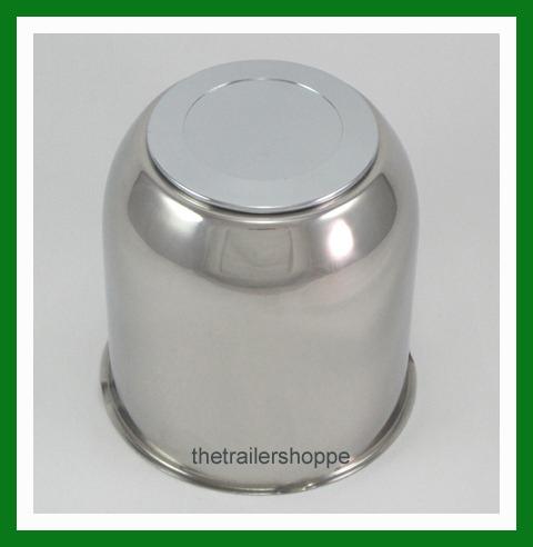 4.25 Stainless Steel Chrome Center Cap Cover FOR Trailer Wheel