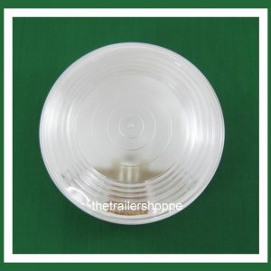 """Back-up Sealed Lens Clear 4"""" Round"""