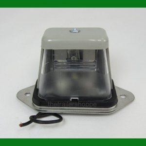 Rectangular License Plate Light