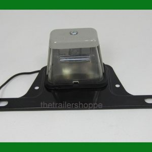 License Plate Light With License Plate Bracket