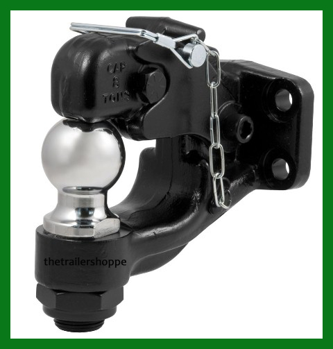 """Combination Forged Ball/Pintle Hook 2"""" Ball"""