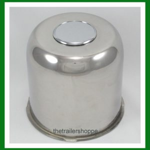 5.12 Stainless Steel Chrome Center Cap Cover FOR Trailer Wheel