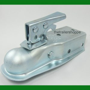 "Trailer Coupler 1-7/8"" ball, 3"" Wide Channel Bolt On"