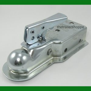 "Trailer Coupler 2"" ball, 3"" Wide Channel Bolt On"