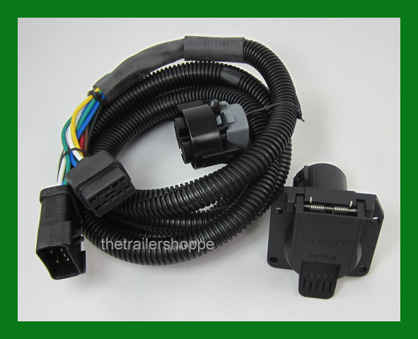 7 way rv plug gooseneck wiring harness dodge the trailer shoppe rh thetrailershoppe com Painless Wiring Harness Chevy Painless Wiring Harness Chevy