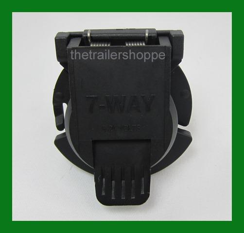 Replacement Trailer Light Plug 7 RV Round Chevy Twist