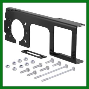 "Easy-Mount Electrical Bracket for 4 & 5-way Flat and 6 & 7-way Round Connector -2"" Tube"