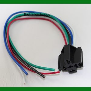 Prewired Relay Socket, 14 Ga