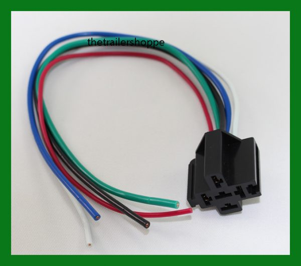 Prewired Relay Socket, 14 Ga
