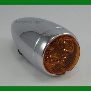 """Chrome Steel Spyder LED Light 6-5/16"""""""