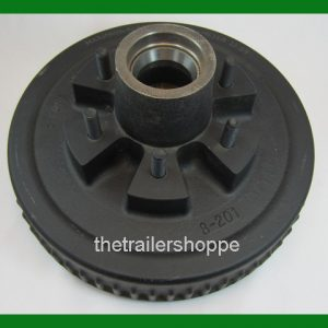 Dexter 12 X 2 Electric Hydraulic trailer brake Drum Hub 6 on 5.5 bolt