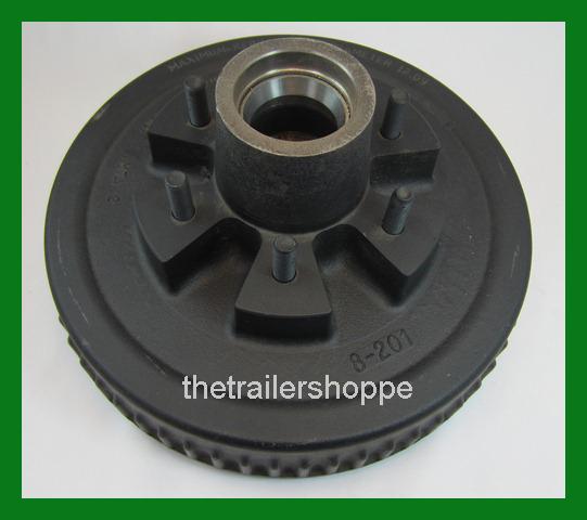 Dexter 12 X 2 Electric Hydraulic trailer brake Drum Hub 6 on 5.5 bolt