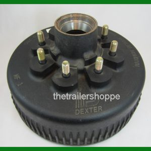 Dexter 8K 12 1/4 X 3 3/8 Trailer Oil Drum 8 on 6.5 bolt