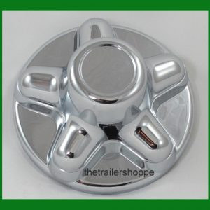 Quick Trim ABS Chrome Hub Cover Wheel Rim for 6 Lug