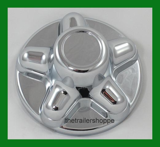 Quick Trim ABS Chrome Hub Cover Wheel Rim for 6 Lug
