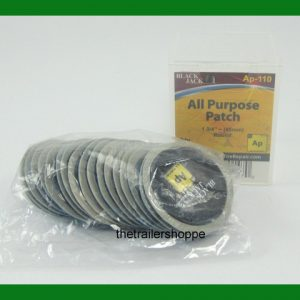 "BlackJack Tire Tube Repair Patch 1 3/4"" 45mm Round All Purpose 20 PC."