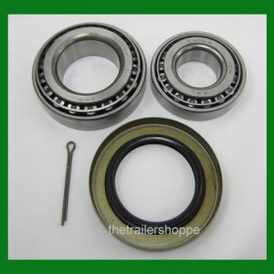 "Wheel Bearing Kit 2000# EZ Lube Axle Spindle 1.00"" Seal"