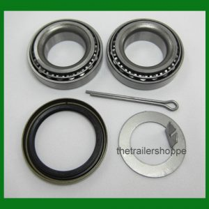 "Wheel Bearing Kit 2000# EZ Lube Axle Spindle 1 1/16"" Seal"