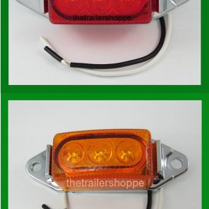 3 LED Rectangular Marker Interior  Utility Light