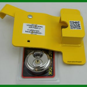 Enclosed Trailer Bar Door Lock
