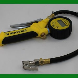 Cyclone Digital Tire Inflater Gauge Assembly