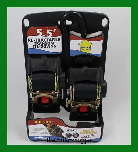 Re-Tractable Transom Tie-Downs 2 X 5-1/2'